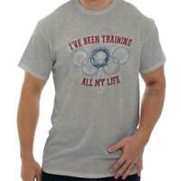 Training Religious Olympics Jesus Christ God Christian T-Shirt Tee