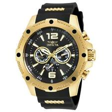 Invicta I-Force Gent's Steel & Polyurethane Strap Watch