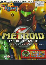 Metroid Prime Nintendo Game Cube Brady Official Strategy Guide Book 2002, PB