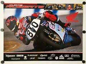 Vintage Poster 2003 Kurtis Roberts Honda CBR 954RR AMA Erion Racing