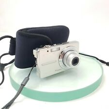 """OLYMPUS FE-230 Digital Compact Camera 2.5"""" LCD 7.1 MP  Silver Cased TESTED #889"""