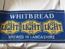 Whitbread Light Beer Bar Towel Cloth New