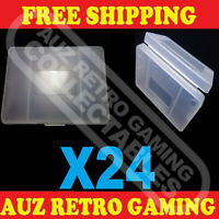 24X Clear Protective Game Cartridge Case For Nintendo GameBoy GBA / SP Games
