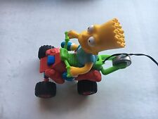 Rare! Mattel Bart Simpson Remote Control Quad Cycle 1990 Works Great Loose