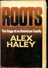 """VINTAGE HARDCOVER """"ROOTS"""": THE SAGA OF AN AMERICAN FAMILY"""" ALEX HALEY 1976"""