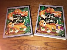 The Fox and the Hound/Fox & the Hound Il; Disney DVD + Blu-ray ] New + Fast Ship