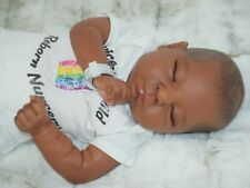 Ethnic ooak AA reborn baby doll