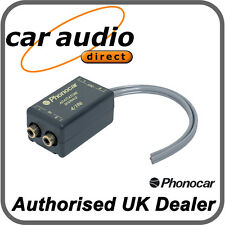 Phonocar 4/196 Line Out High To Low Level Converter Speaker RCA Adapter 25W RMS