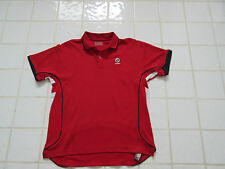 polo de tennis LOTTO official product ATP rouge taille 15/16 ans