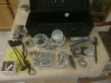 Lot of Archery Arrowheads and Accessories in Broadhead Tackle Box 300+ pieces