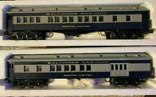 O Scale-Williams M201 Baltimore & Ohio Capital Limited 6-Car Passenger Set O2730