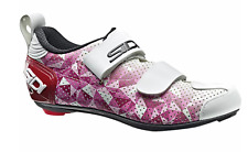 SIDI T5 AIR WOMENS Triathlon Cycling Shoes, Gry/Yel/Blk, SIZE 42 (US 8)