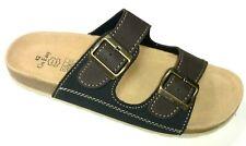 Go Easy Martin Herren Schuhe Pantolette Sandale Bio Tieffußbett 030-060 braun