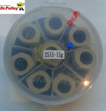 Set de 8 galets Dr Pulley 15g pour variateur Malossi Multivar Yamaha TMax 530