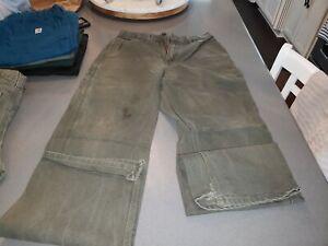CARHART  Canvas Carpenter 29X32 Original Dungaree Fit Pants GREEN