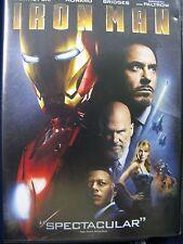 Iron Man (DVD, 2008, Widescreen)  Very Good