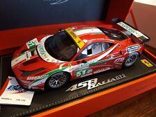 BBR 1.18 Ferrari 458 Italia GT2 24H LE MANS 2011 Limited 140 pcs