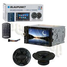 "Blaupunkt BPDD-MEM440 Car Audio 6.2"" DVD Bluetooth Radio + 6.5"" 4-WAY Speakers"