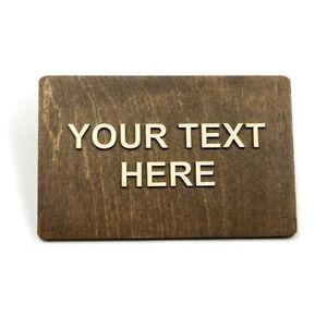 Custom Door Sign, Your Own, Restroom, Office, Restaurant, Hotel, Bar, Toilet