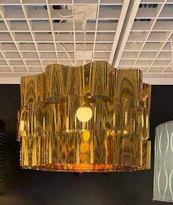 "Ikea ÄLVSTARR ALVSTARR Large (Floor/Pendant) Lamp Shade Steel, Gold Effect 20"""