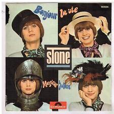 """STONE     Bonjour la vie      7"""" SP 45 tours"""