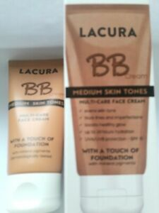 LACURA BB •Multi Care Face Cream• Medium Skin Tone  •SPF 15• 50ml ❌1