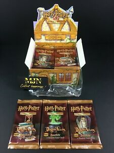 3 Boosters HARRY POTTER TCG US Diagon Alley Neuf scellé WOTC Rare / Display