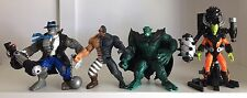 Marvel Toy Biz INCREDIBLE HULK Lot of 4 Loose Action Figures 1996-1997
