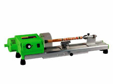 Mini Wood Lathe Machine Mini Precise DIY Woodworking Lathe Drill For Cup,Plate