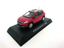 Peugeot 2008 Mi-Vie 2016 - 1:43 NOREV DIECAST MODEL CAR DEALER PACK 4798461