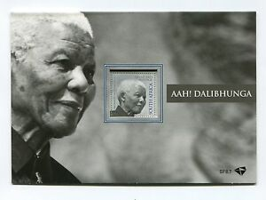 2014 Nelson Mandela Official South Africa Commemorative Stamp souvenir folder