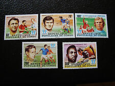 CONGO brazzaville - timbre yvert et tellier n° 524 a 528 n** (A9) stamp