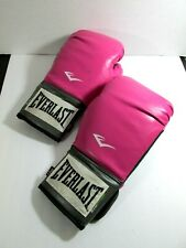 Everlast Boxing Gloves Pro training style Women's sports Pink 12oz