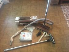VINTAGE ANTIQUE ELECTROLUX CANISTER VACUUM PACKAGE