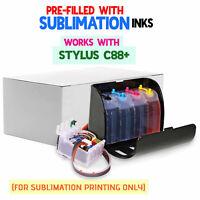 Sublimation Ink Cartridges EpsonC64//C66//C84//C84N//C84WN//C86//CX3600//CX3650//CX4600