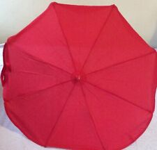 Mother Care Red Baby Pram Parasol