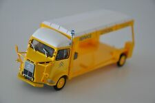CITROEN Type H Porte-auto 1972 jaune ELIGOR presse 1/43 neuf