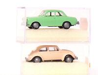 Brekina 2500 + 2600 - VW Käfer 1300 + VW 1500 Limousine  1:87 / H0   neu in  OVP