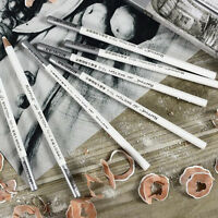 1/4/12pcs Pastel Charcoal Drawing Sketch Pencil Art Artist Craft White