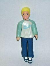 Polly Pocket Steven Blonde Hair Boy Figure 3.75 inches