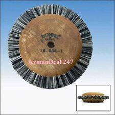 "(3) Dixcel 3"" Wood Hub Wheel Brush, polishing ROTARY WHEEL jewlery tool"