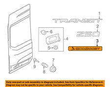 FORD OEM 15-18 Transit-250 Back Door-Emblem Badge Nameplate Left CK4Z9942528A