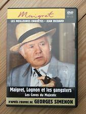 MAIGRET , LOGNON ET LES GANGSTERS/   LES CAVES DU MAJESTIC N 21
