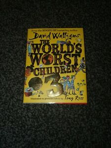 David Walliams - The World's Worst Children 3; SIGNED 1st Edition Hardback