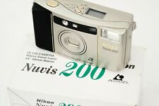 NIKON NUVIS 200 - compact APS camera in original box - tested with batteries.