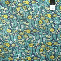 Tula Pink PWTP073 Eden Wildflower Sapphire Cotton Fabric By Yard