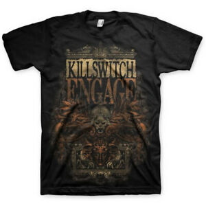 Official Killswitch Engage T Shirt Army Black Classic Rock Metal Band Tee Mens