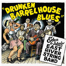 Eden & John's East River String Band - Drunken Barrel House Blues LP BLUE VINYL