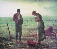 Jean Francois Millet Das Abendgebet Poster Kunstdruck Bild 57,2x72,5cm