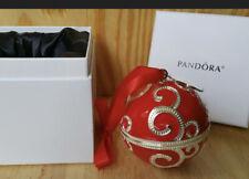 Pandora Red Christmas Holiday Rockettes Ornament Nib